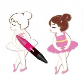 Djeco Ζωγραφίζω με Κηρομπογιές Φιγούρες Κορίτσια (08996)