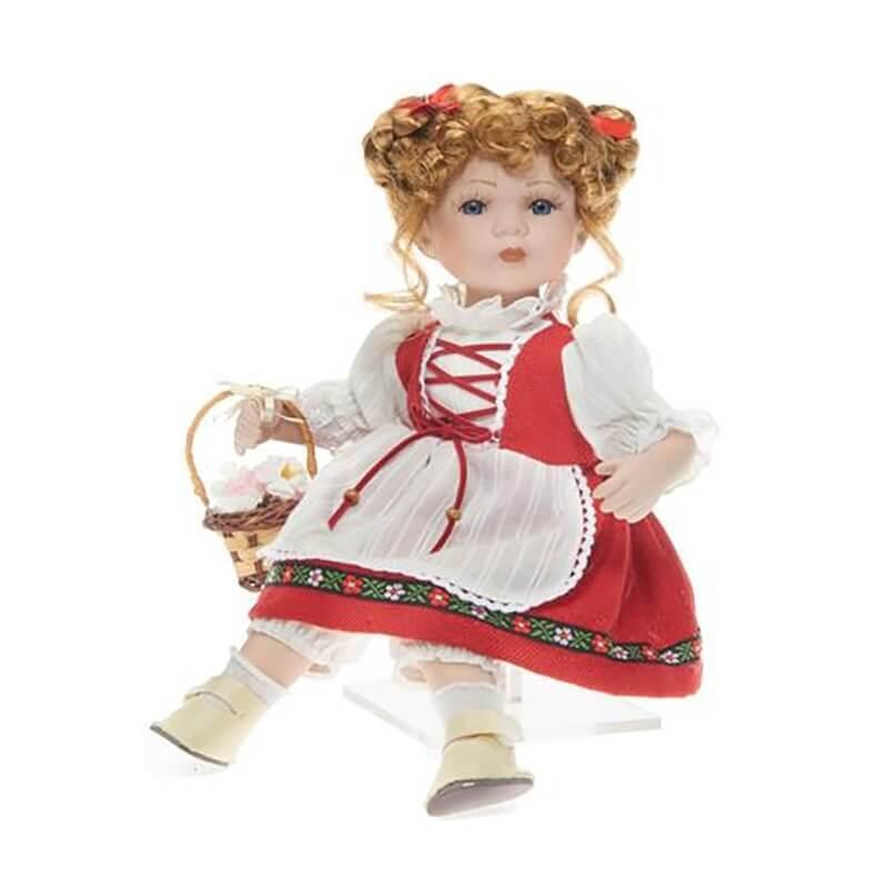 Κούκλα Πορσελάνινη Συλλεκτική Καθιστή RF Collection 30 εκ. (121124)