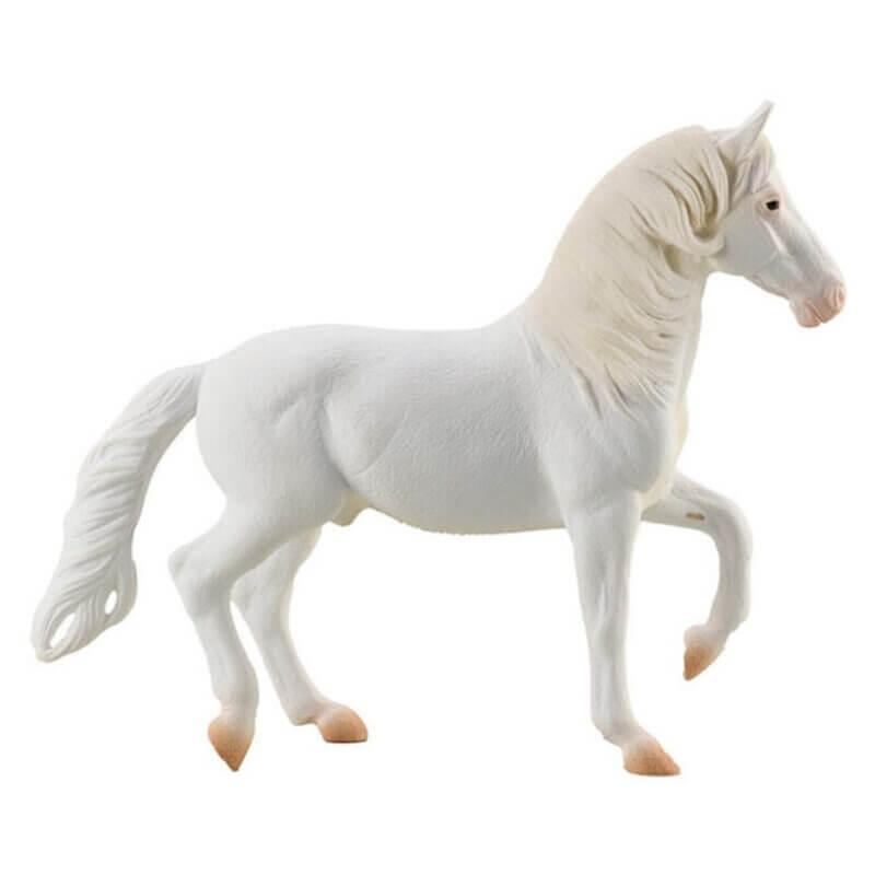 Collecta Άλογα - Καμαρίγιο Λευκός Επιβήτορας