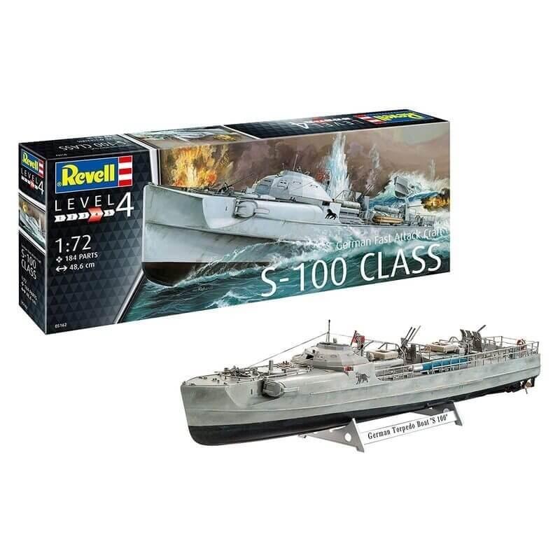 Πολεμικό Πλοίο German Fast Attack Craft S-100 CLASS 1/72