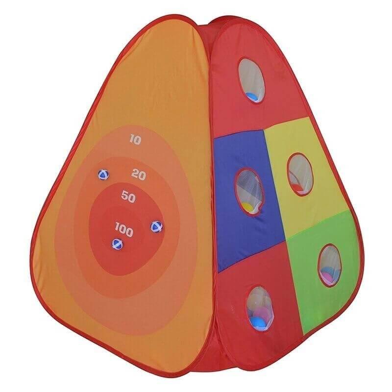 Παιδική Σκηνή και Στόχος με 30 Μπαλάκια
