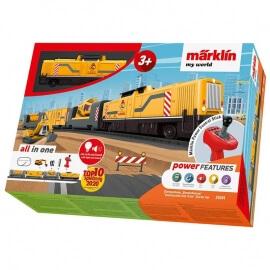 """Σετ Τρένο """"Εργοτάξιο"""" Märklin my world 3+"""