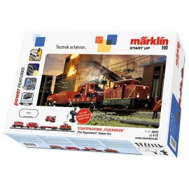 """Τρένο Märklin start up - Starter Set """"Fire Department"""" NEW"""