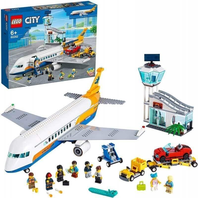 Lego City - Επιβατικό Αεροπλάνο (60262)