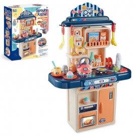 Παιδική Κουζίνα με Ήχους, Ατμό, Φώτα και Βρύση