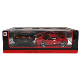 Τηλεκατευθυνόμενο Σπορ Αυτοκίνητο με Φορτιστή (κόκκινο)