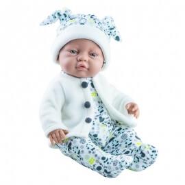 Μωρό Βινυλίου Αγόρι Paola Reina Bebito 45cm