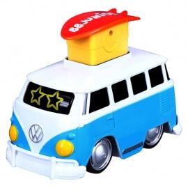 """Bburago Junior Volkswagen """"Πάτα με και Φεύγω"""" μπλε"""