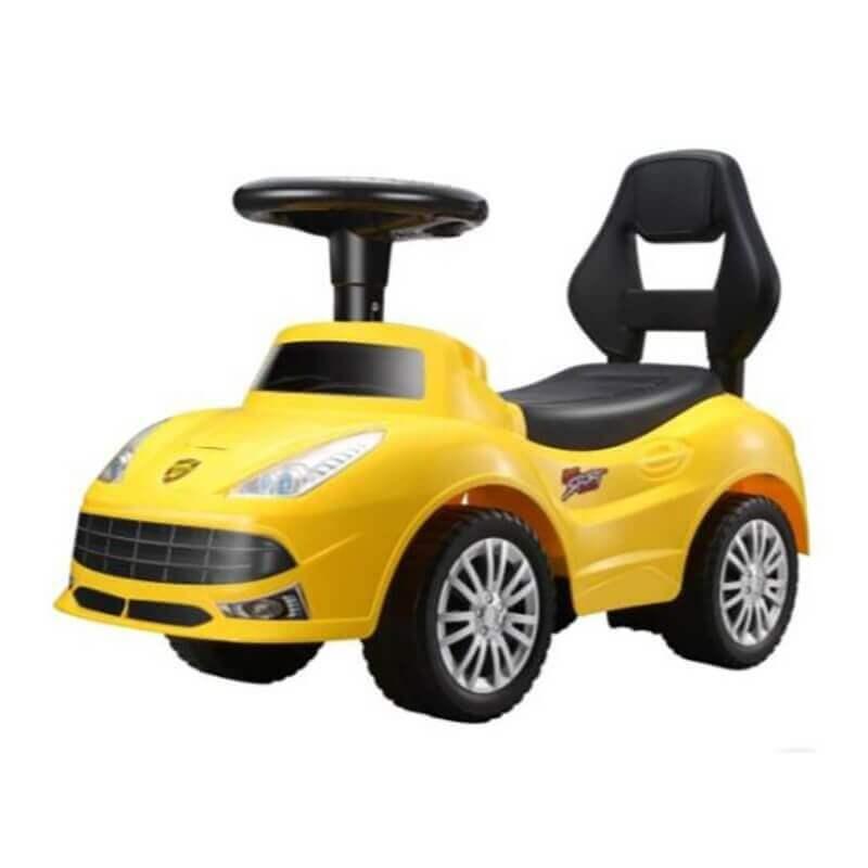 Περπατούρα Αυτοκίνητο Τύπου Ferrari με ήχους και φώς κίτρινο