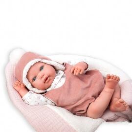 Μωρό Reborn 45εκ. με Κουβερτάκι και Ζωάκι Λούτρινο Munecas Arias Gael
