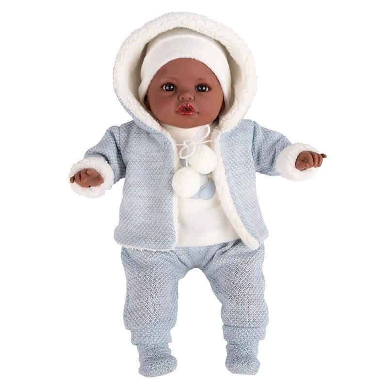 Μωρό Saira-Negrita με ήχους γαλάζιο 42cm