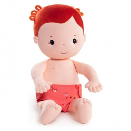 Πάνινη Κούκλα Rose 36εκ. Lilliputiens