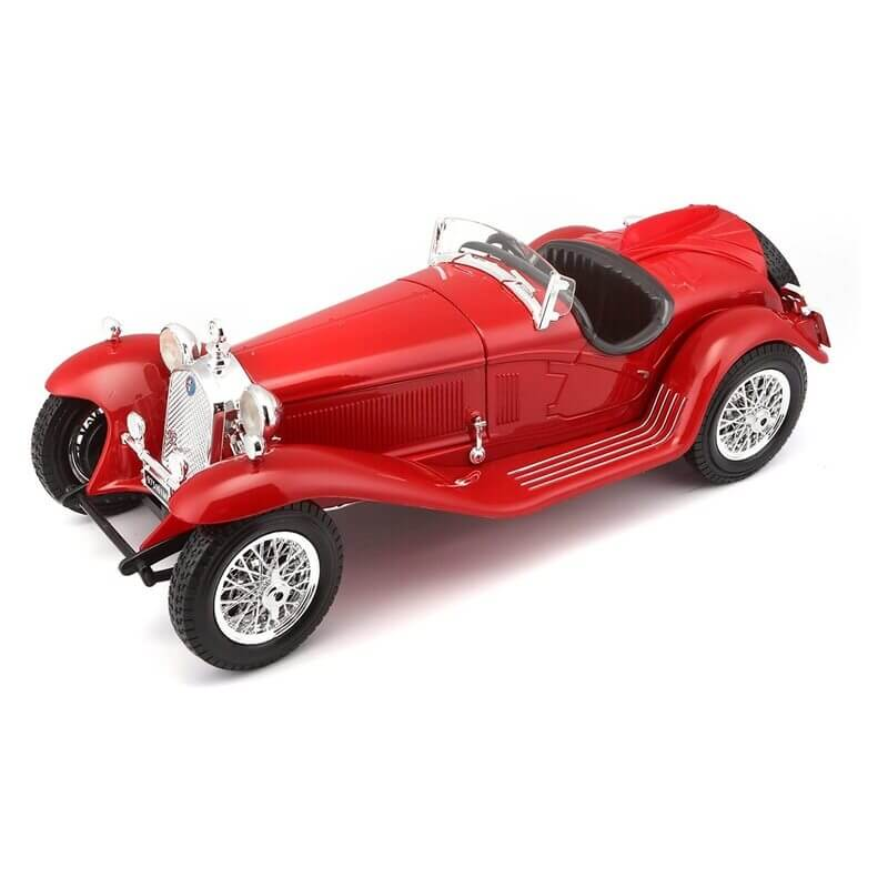 Bburago 1:18 Alfa Romeo 8C 2300 Spider Touring (1932) ασημί