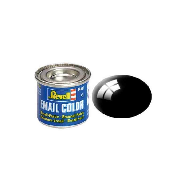 Χρώμα Μοντελισμού Revell 07 Μαύρο Gloss 14ml