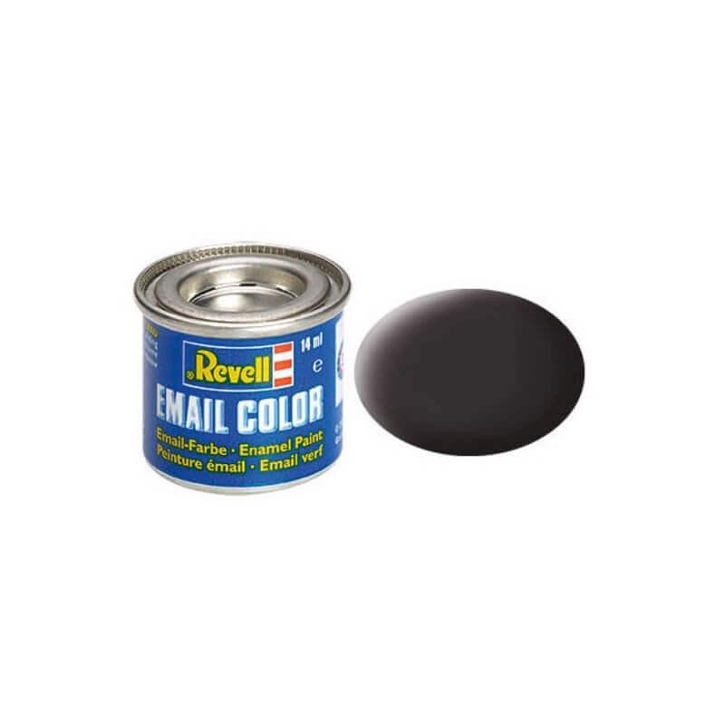 Χρώμα Μοντελισμού Revell 06 Μαύρο Matt Tar Black 14ml