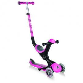 Πατίνι - Περπατούρα Globber Scooter Go-Up Deluxe Deep Pink (644-110)