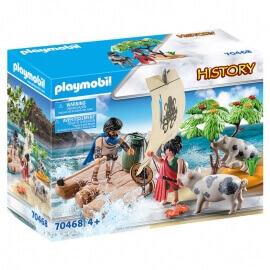 Playmobil History Ο Οδυσσέας Και Η Κίρκη (70468)