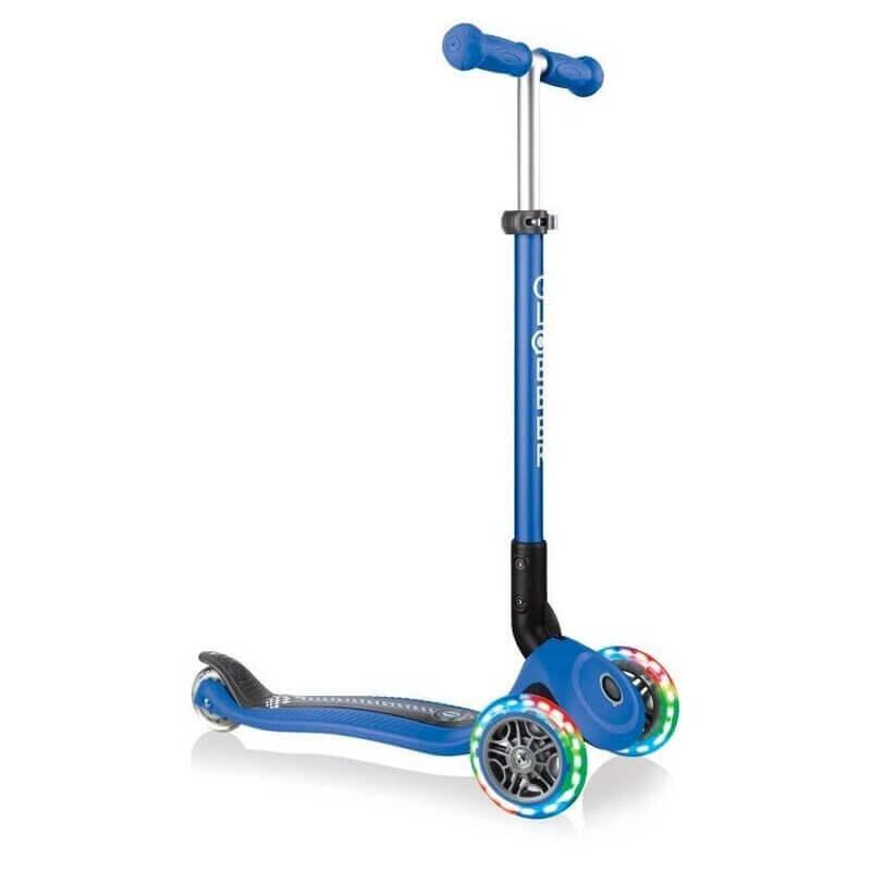 Πατίνι Globber Scooter Primo Foldable Fantasy Lights Racing Navy Blue