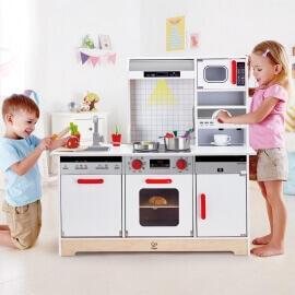 Hape Playfully Delicious Ξύλινη Παιδική Κουζίνα Delicious Memories (E3145)