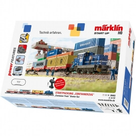"Märklin start up - Starter Set ""Τρένο Container με Ήχους"" (29453)"