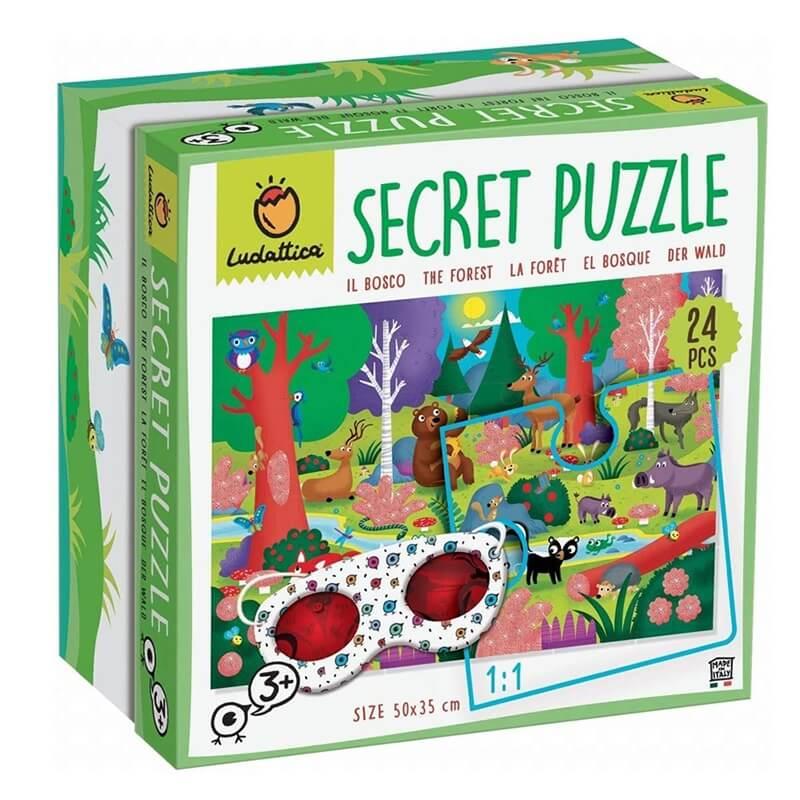 "Secret Puzzle ""To Δάσος"" 24 κομ. Ludattica (74785)"