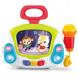 Παιδικό Karaoke Jukebox με Μικρόφωνο Hola (3138) Καραοκε