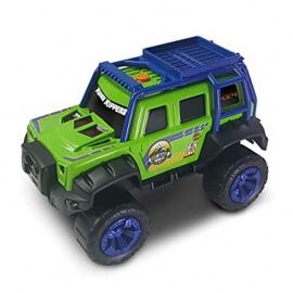 Τζίπ Off Road πράσινο με κίνηση, ήχους και φώτα