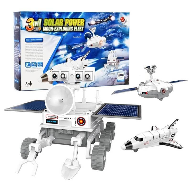 Κατασκευή Ηλιάκα Διαστημικά Οχήματα 3 σε 1