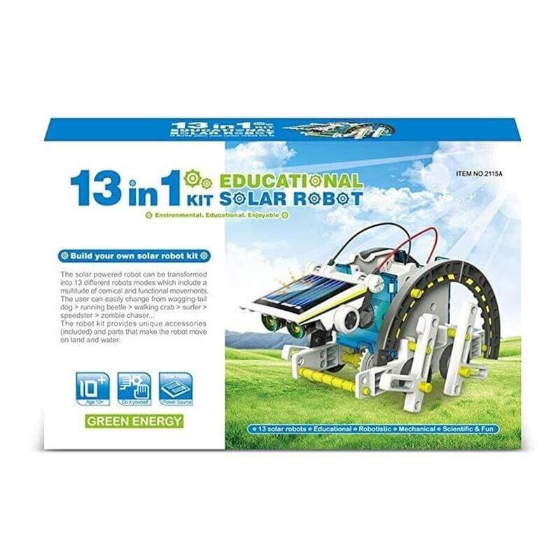 Kατασκευή Ηλιακό Ρομπότ 13 σε 1