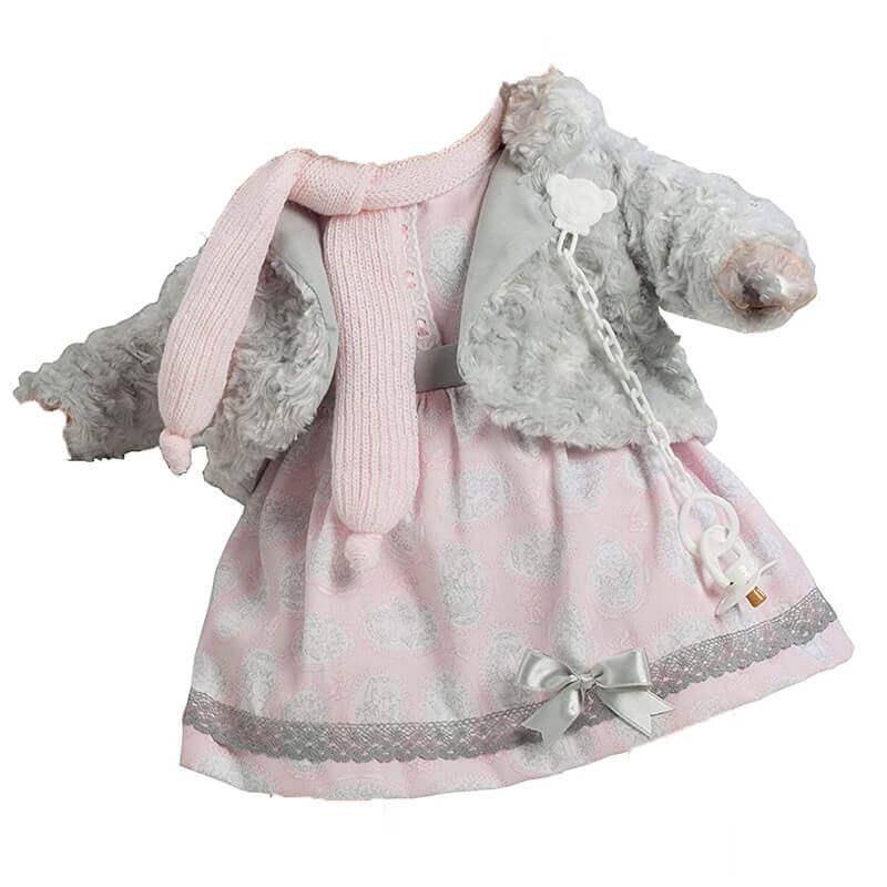 Φόρεμα Berbesa για Κούκλα 62εκ. T8043