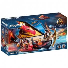 Playmobil Novelmore - Πλοίο της φωτιάς του Burnham (70641)