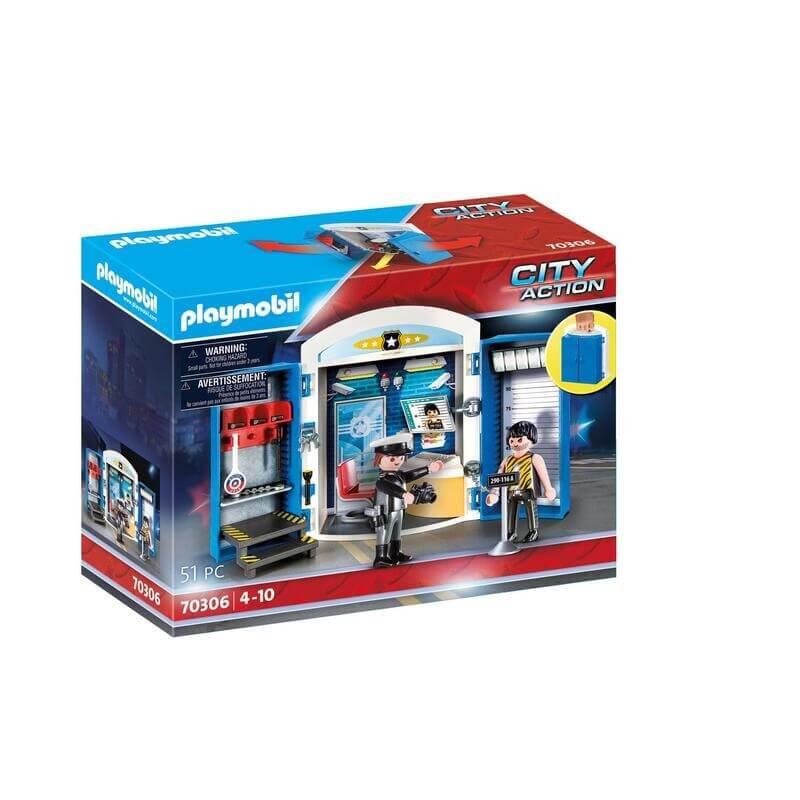"Playmobil Αστυνομία ""Αστυνομικό Τμήμα"" (70306)"