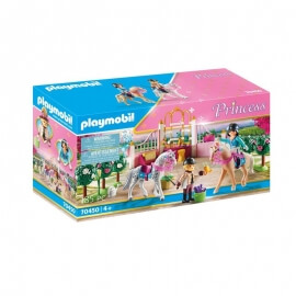 Playmobil Πριγκιπικό Παλάτι - Μαθήματα ιππασίας στον βασιλικό στάβλο (70450)