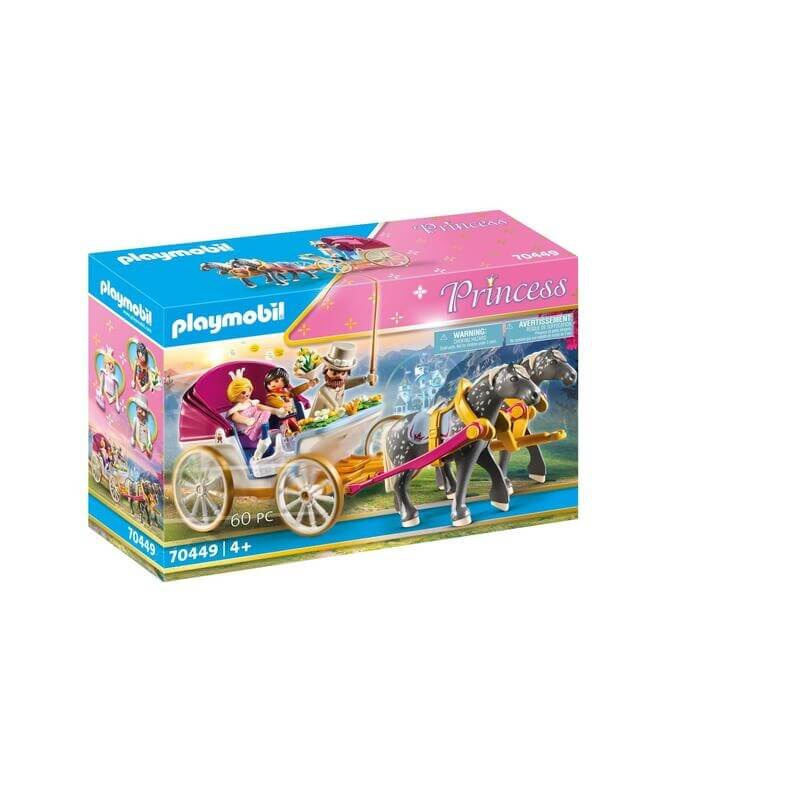 Playmobil Πριγκιπικό Παλάτι - Πριγκιπική άμαξα (70449)