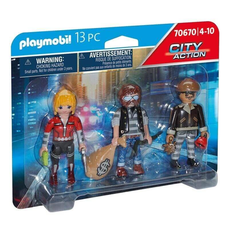 Playmobil Αστυνομία - Ομάδα ληστών (70670)