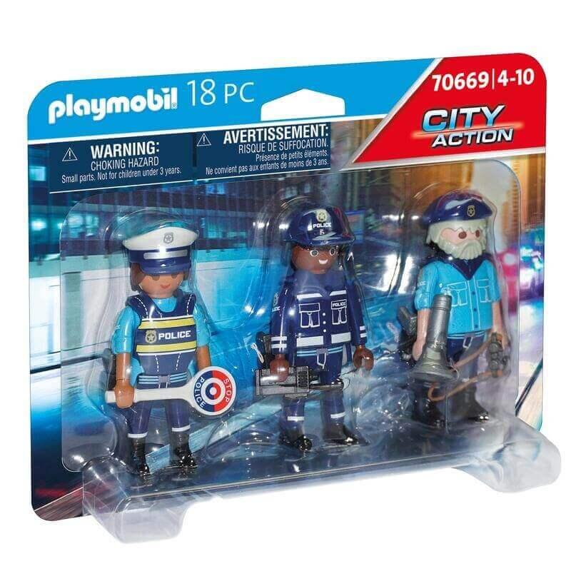 Playmobil Αστυνομία - Ομάδα αστυνόμευσης (70669)