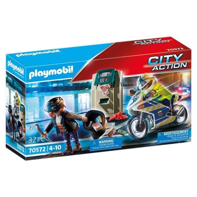 Playmobil Αστυνομία - Διάρρηξη στο ΑΤΜ (70572)