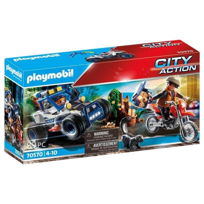 Playmobil Αστυνομία - Αστυνομική καταδίωξη off-road (70570)