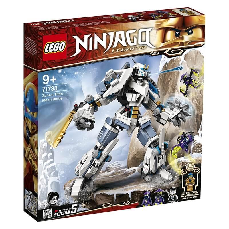 Lego Ninjago - Μάχη του Ρομπότ Τιτάνα του Ζέιν (71738)