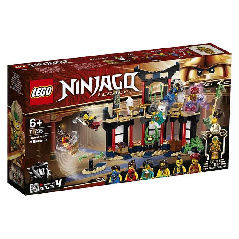 Lego Ninjago - Το Τουρνουά των Στοιχείων (71735)
