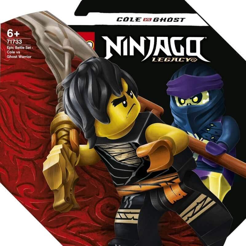 Lego Ninjago - Σετ Επικής Μάχης - Κάι εναντίον Σκάλκιν