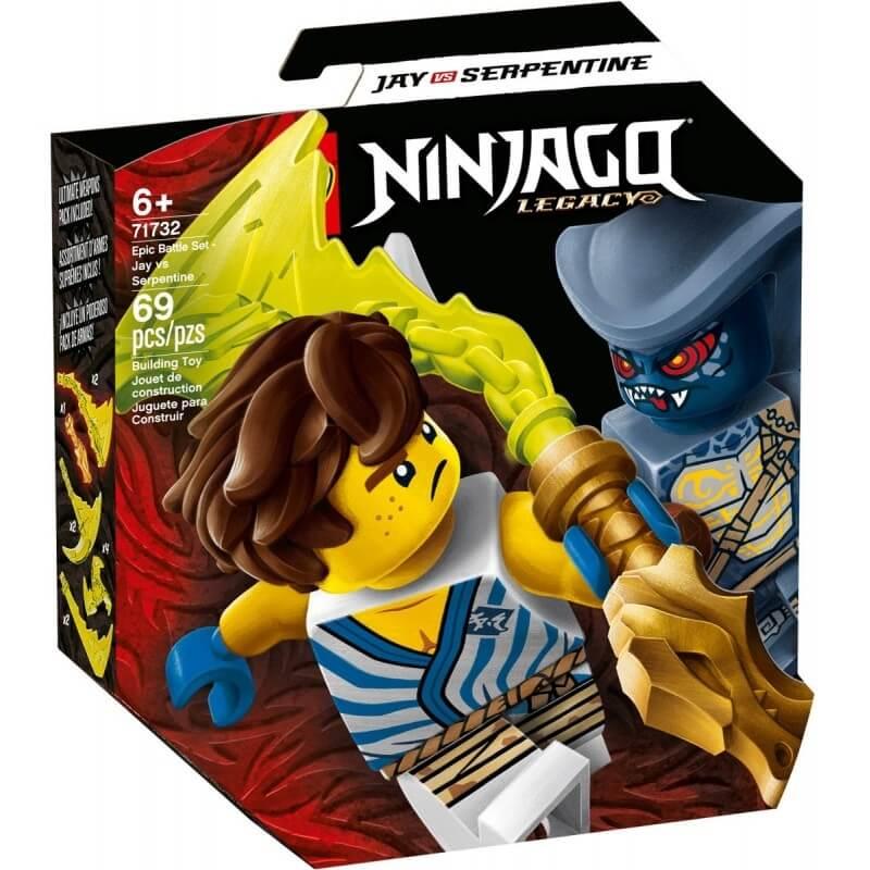 Lego Ninjago - Σετ Επικής Μάχης - Ζέιν εναντίον Νιντρόιντ