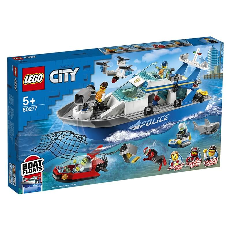 Lego City - Περιπολικό Σκάφος της Αστυνομίας (60277)