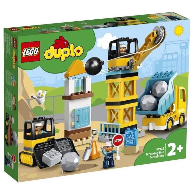 Lego Duplo - Κατεδάφιση με Μπάλα Κατεδάφισης(10932)