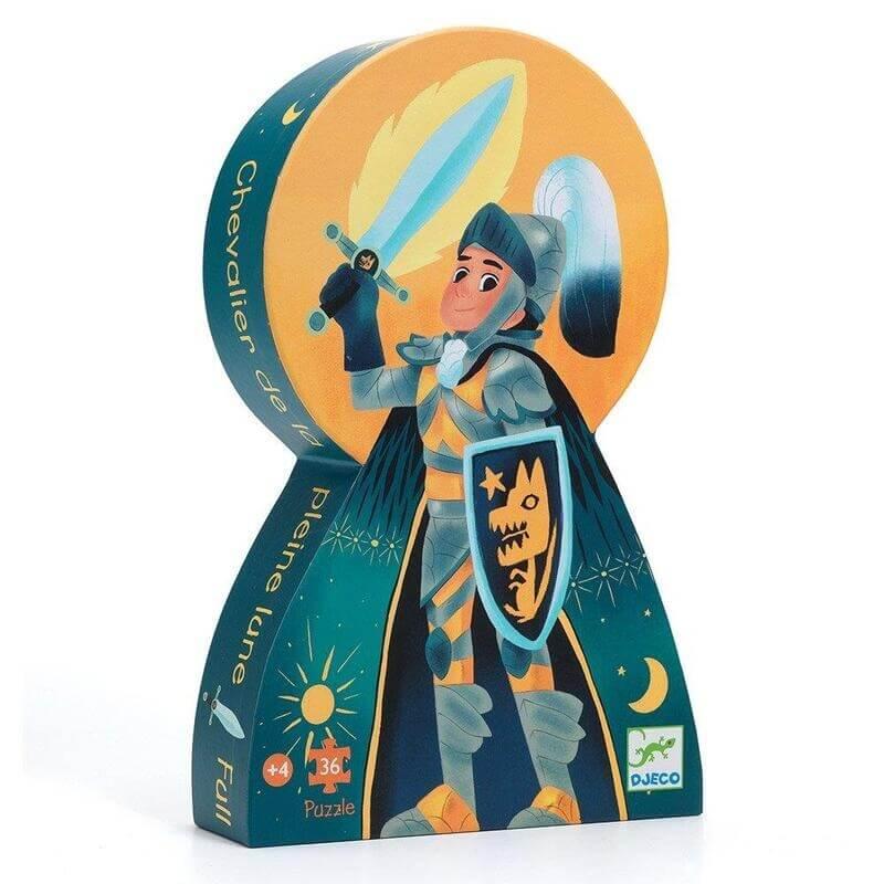 Djeco Πάζλ - Ο Ιππότης του Φεγγαριού 36 κομ. (07237)