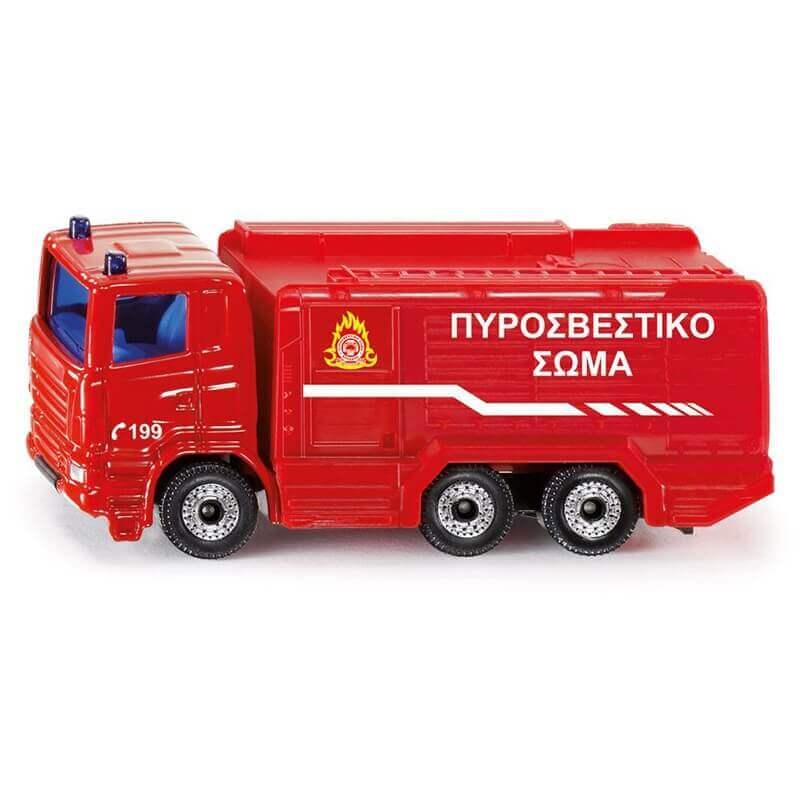Siku - Όχημα Πυροσβεστικής Ελληνικό (1036)