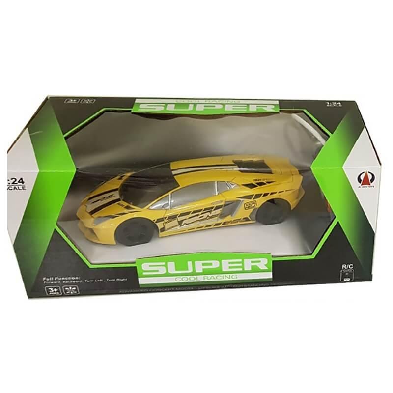 Σπορ Τηλεκατευθυνόμενο Αυτοκίνητο Super Cool κίτρινο