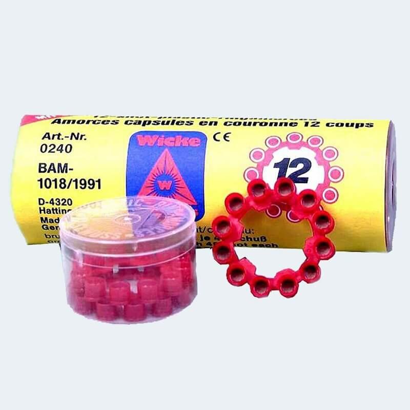 Καψούλια Ροδέλα 12-σφαιρα (Συσκευασία 5 κουτιά από 4 ροδέλες)