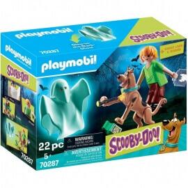 Playmobil Scooby-Doo! Ο Σκούμπι Ντου και ο Σάγκι με ένα Φάντασμα(70287)