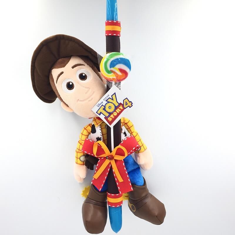 Χειροποίητη Πασχαλινή Λαμπάδα Toy Story Γούντι 30εκ (Woody) (21.41)